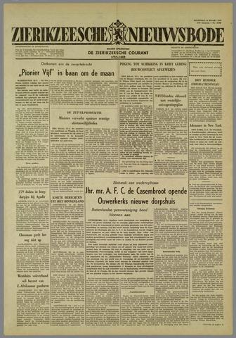 Zierikzeesche Nieuwsbode 1960-03-14