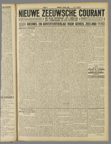 Nieuwe Zeeuwsche Courant 1930-03-04