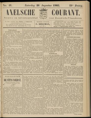 Axelsche Courant 1905-08-26