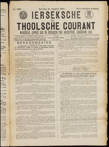 Ierseksche en Thoolsche Courant 1914-08-15