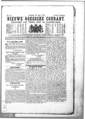 Nieuwe Goessche Courant 1872-04-30