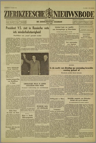 Zierikzeesche Nieuwsbode 1959-03-05