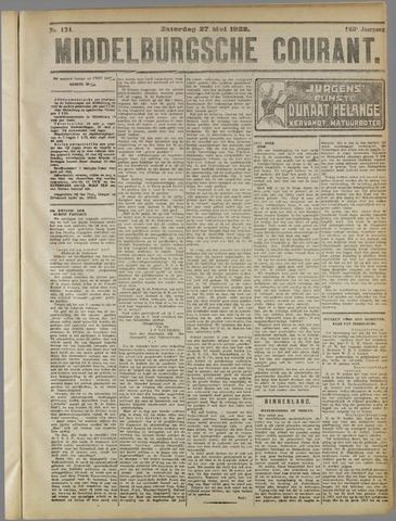 Middelburgsche Courant 1922-05-27