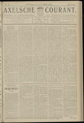 Axelsche Courant 1924-10-14