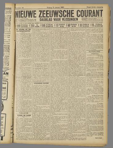 Nieuwe Zeeuwsche Courant 1923-01-19
