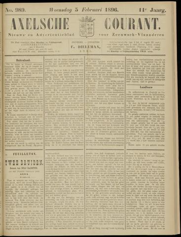 Axelsche Courant 1896-02-05