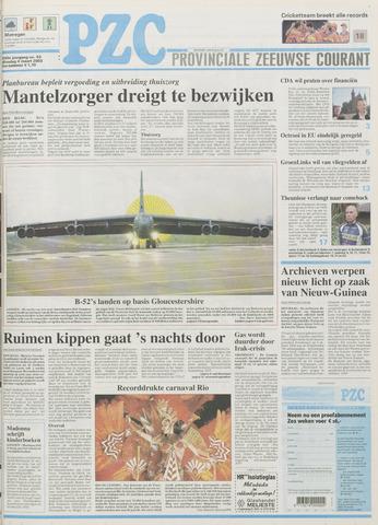 Provinciale Zeeuwse Courant 2003-03-04