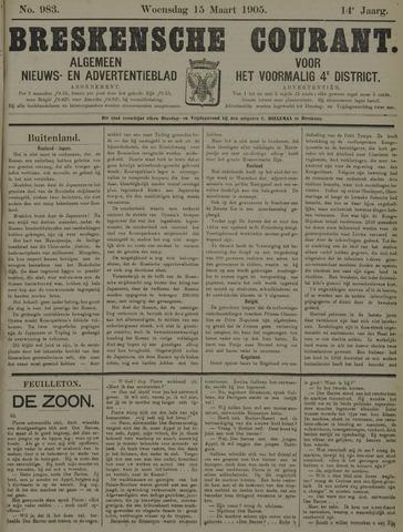 Breskensche Courant 1905-03-15
