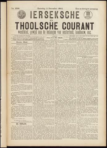 Ierseksche en Thoolsche Courant 1914-12-05