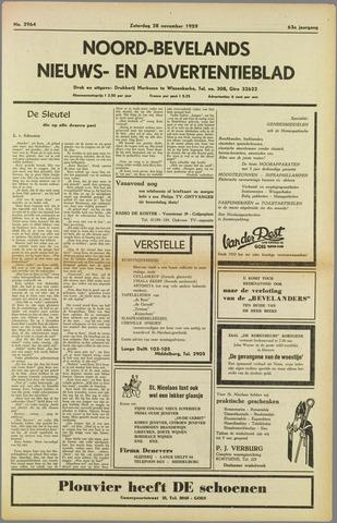Noord-Bevelands Nieuws- en advertentieblad 1959-11-28