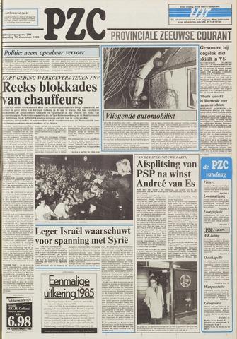 Provinciale Zeeuwse Courant 1985-12-16