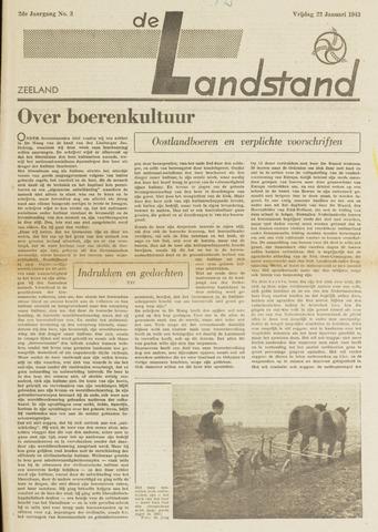 De landstand in Zeeland, geïllustreerd weekblad. 1943-01-22