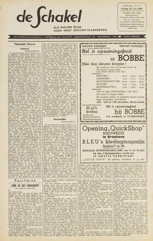 De Schakel 1960-07-22
