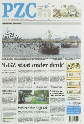 Provinciale Zeeuwse Courant 2008-07-21