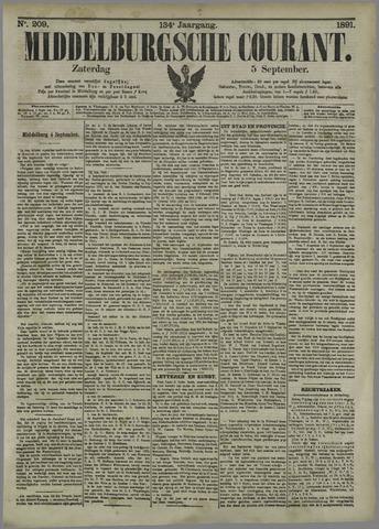 Middelburgsche Courant 1891-09-05