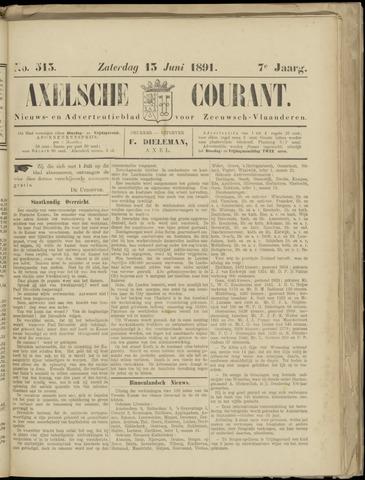 Axelsche Courant 1891-06-13