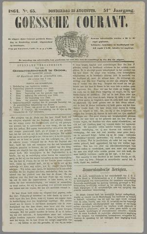Goessche Courant 1864-08-25