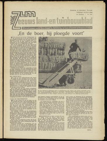 Zeeuwsch landbouwblad ... ZLM land- en tuinbouwblad 1964-07-10