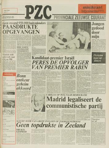 Provinciale Zeeuwse Courant 1977-04-12