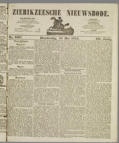 Zierikzeesche Nieuwsbode 1854-05-18