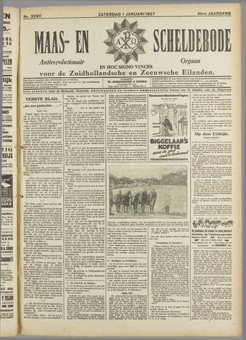 Maas- en Scheldebode 1927