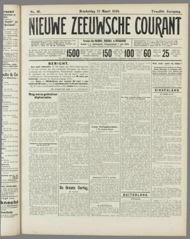 Nieuwe Zeeuwsche Courant 1916-03-23