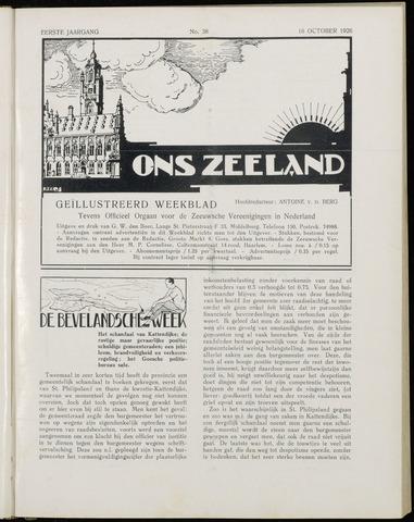 Ons Zeeland / Zeeuwsche editie 1926-10-16