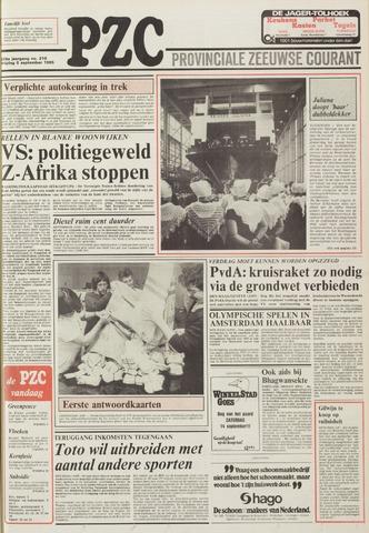 Provinciale Zeeuwse Courant 1985-09-06
