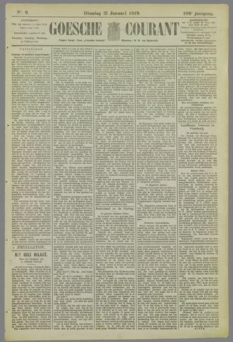 Goessche Courant 1919-01-21