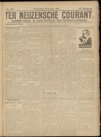 Ter Neuzensche Courant. Algemeen Nieuws- en Advertentieblad voor Zeeuwsch-Vlaanderen / Neuzensche Courant ... (idem) / (Algemeen) nieuws en advertentieblad voor Zeeuwsch-Vlaanderen 1927-10-12