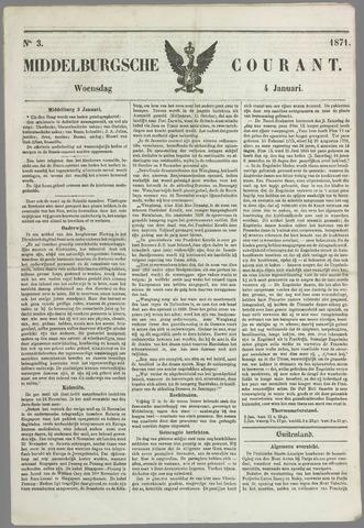 Middelburgsche Courant 1871-01-04
