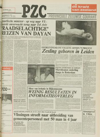 Provinciale Zeeuwse Courant 1977-09-19