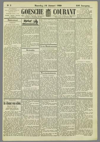 Goessche Courant 1929-01-14