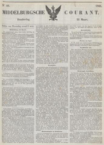 Middelburgsche Courant 1866-03-22