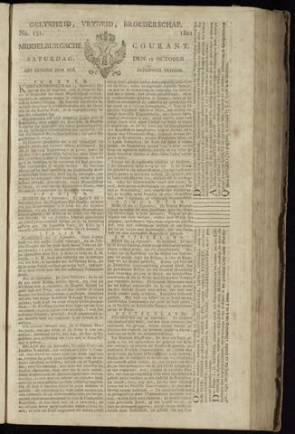 Middelburgsche Courant 1801-10-10