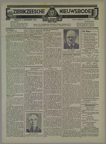 Zierikzeesche Nieuwsbode 1940-12-06
