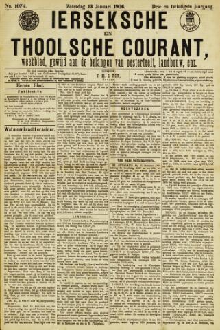 Ierseksche en Thoolsche Courant 1906-01-13