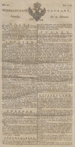 Middelburgsche Courant 1776-02-17