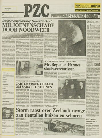 Provinciale Zeeuwse Courant 1978-01-04