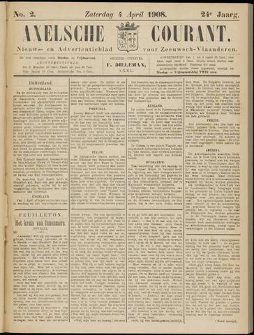 Axelsche Courant 1908-04-04