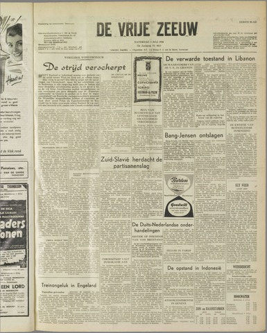de Vrije Zeeuw 1958-07-05