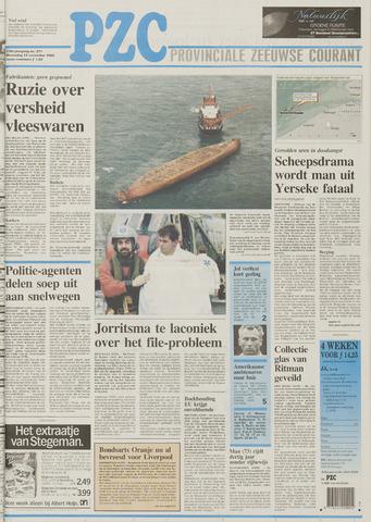 Provinciale Zeeuwse Courant 1995-11-15