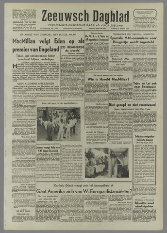 Zeeuwsch Dagblad 1957-01-11