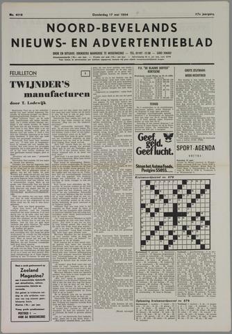 Noord-Bevelands Nieuws- en advertentieblad 1984-05-17