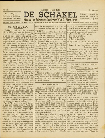De Schakel 1945-06-11