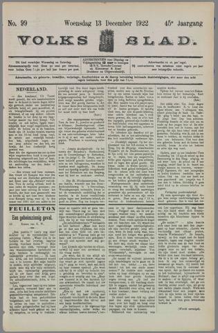 Volksblad 1922-12-13