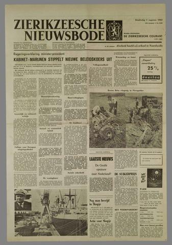 Zierikzeesche Nieuwsbode 1963-08-01