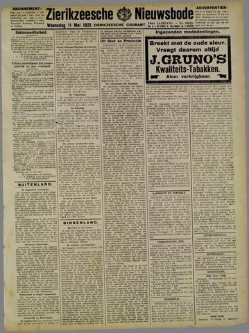 Zierikzeesche Nieuwsbode 1921-05-11