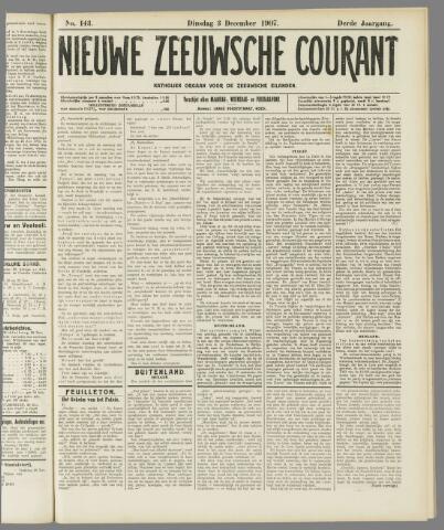 Nieuwe Zeeuwsche Courant 1907-12-03