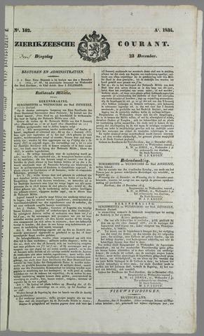 Zierikzeesche Courant 1824-12-23